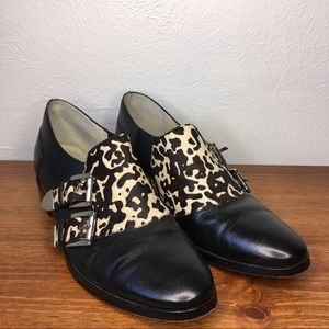 Michael Kors Saylor Calf Hair Buckle Loafers 8.5